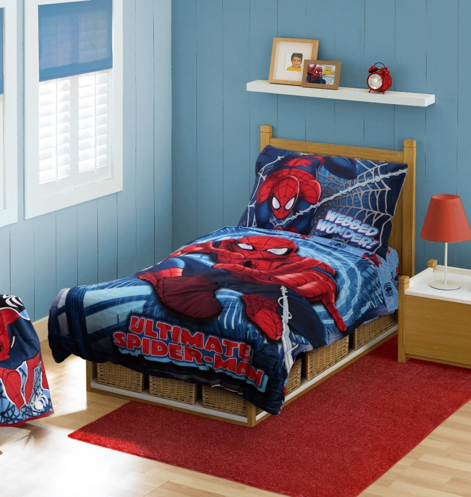 Cheap Spiderman Toddler Bedding