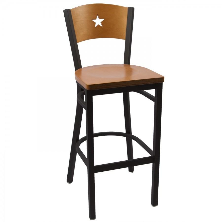 Cherry Wood Bar Stool Table