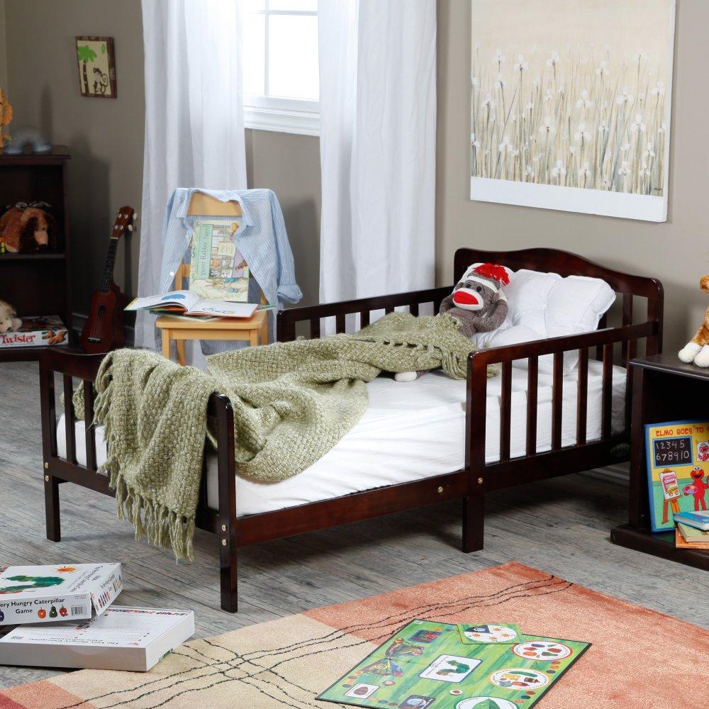 Cherry Wood Toddler Bed Walmart