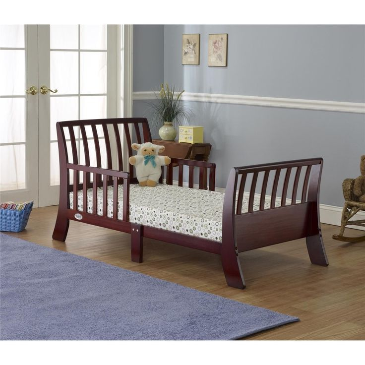 Cherry Wood Toddler Bed