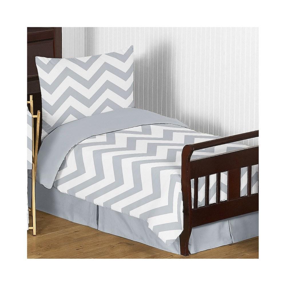 Chevron Toddler Bedding