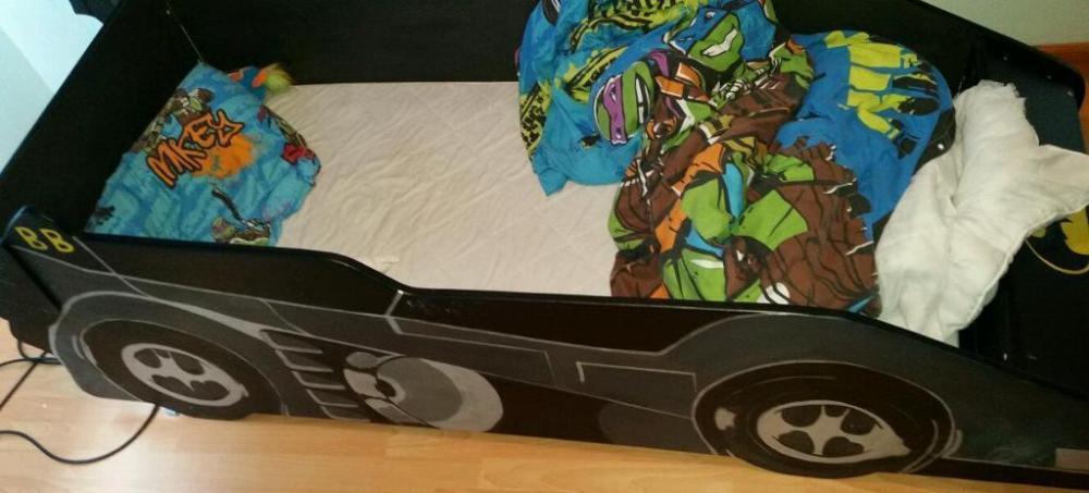 Children's Batmobile Bed