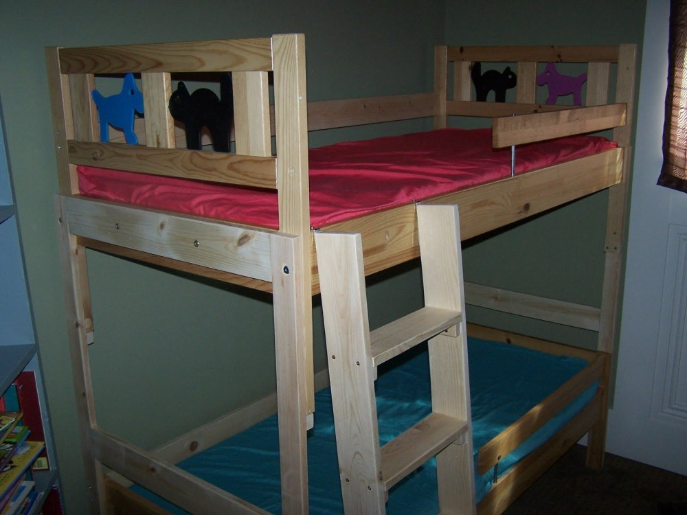 Children's Bed With Rails