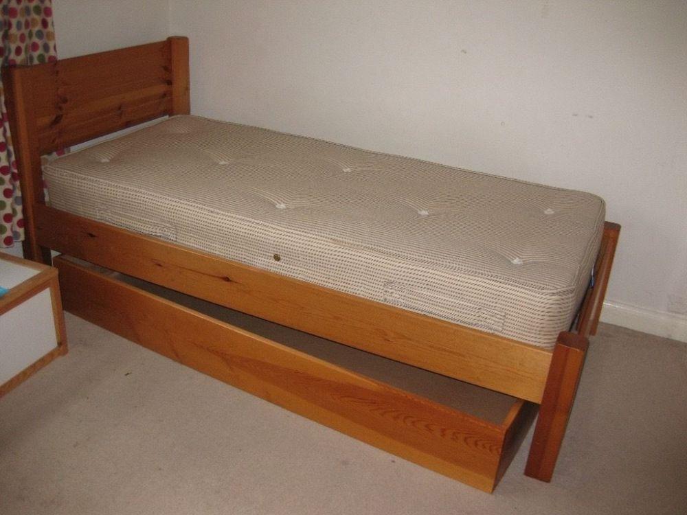 Children's Bed With Storage Under