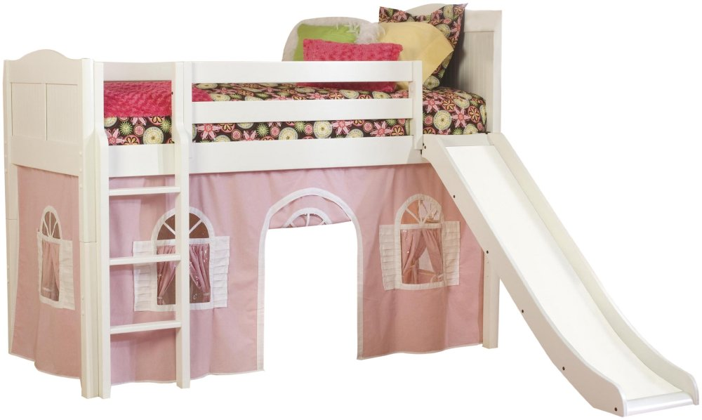 Children's Bunk Bed With Slide