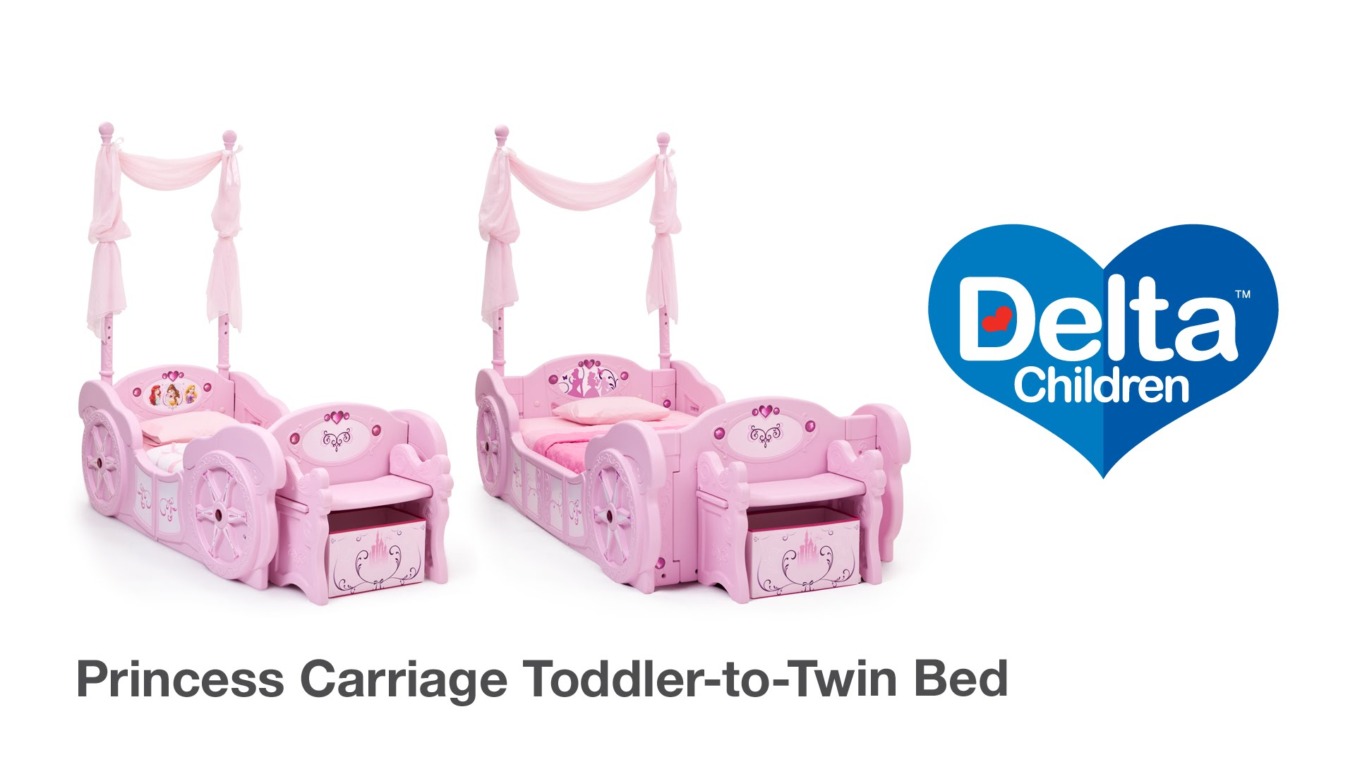Children's Carriage Bed