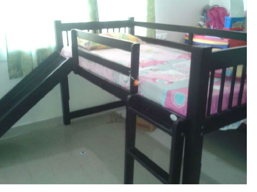 Childrens Loft Bed With Steps