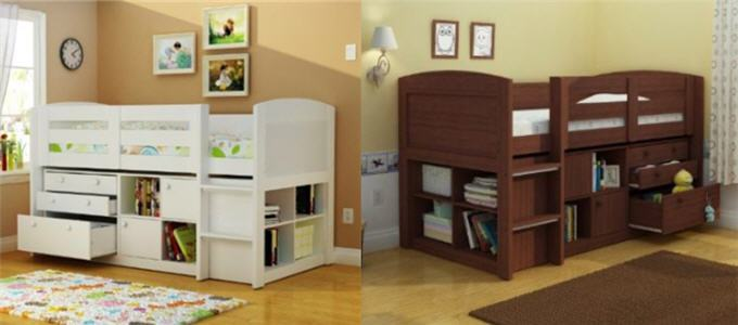 Childrens Storage Beds For Small Rooms