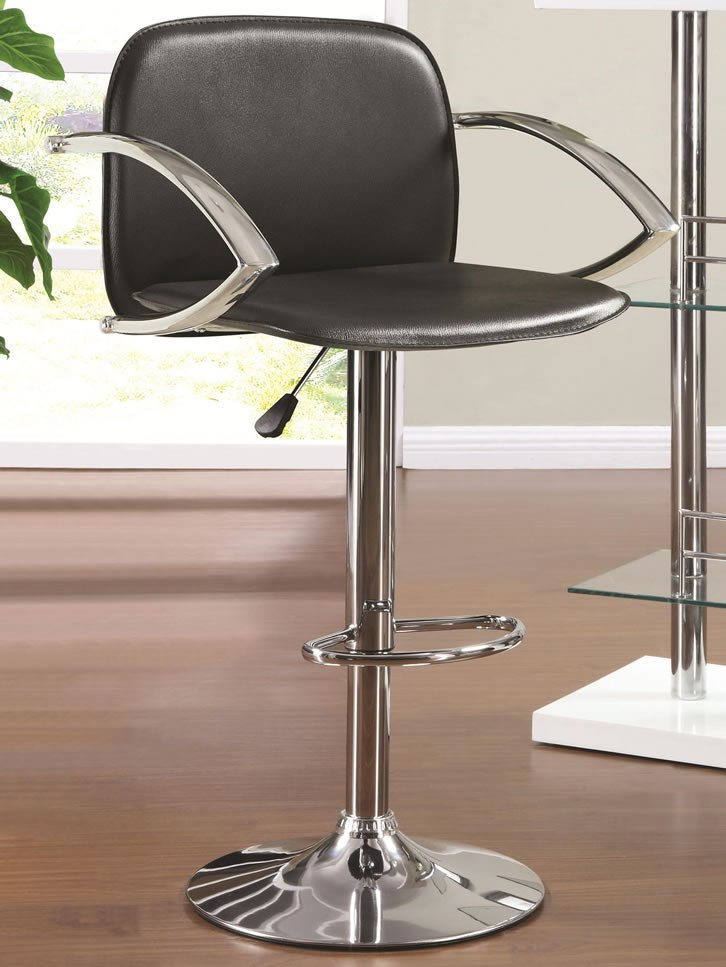 Chrome Bar Stools With Arms