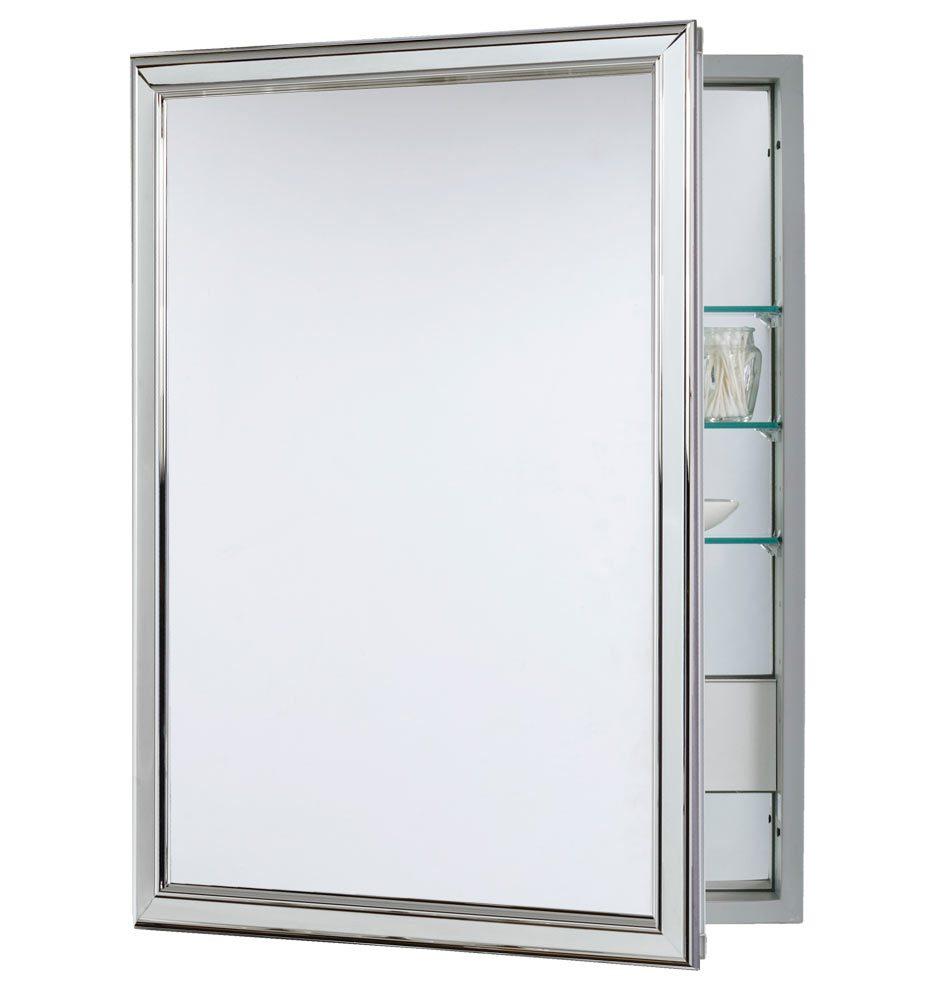 Chrome Medicine Cabinet