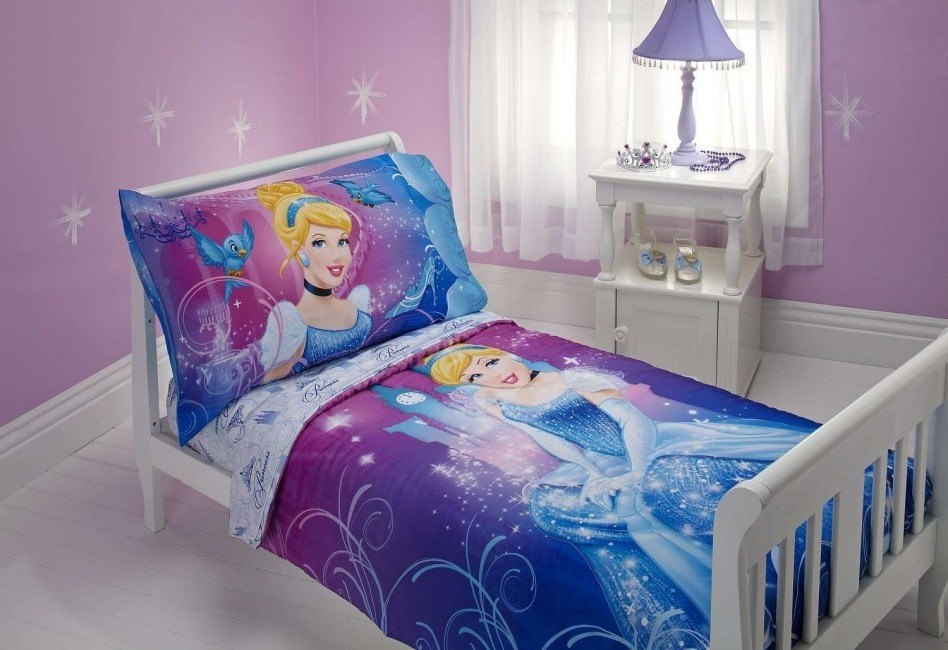 Cinderella Toddler Bedroom