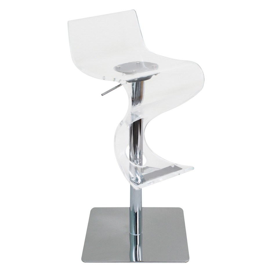 Clear Lucite Bar Stools