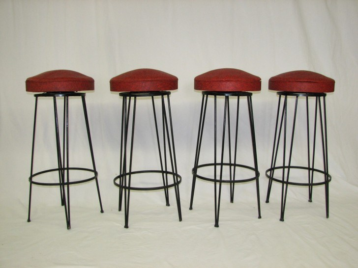 Clifford Pascoe Mid Century Modern Bar Stools