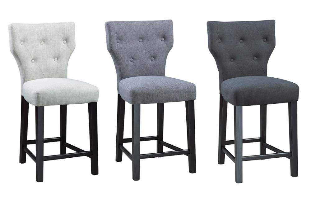 Cloth Bar Stools With Arms