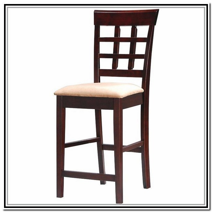 Coaster Bar Stools Solid Wood Cappuccino
