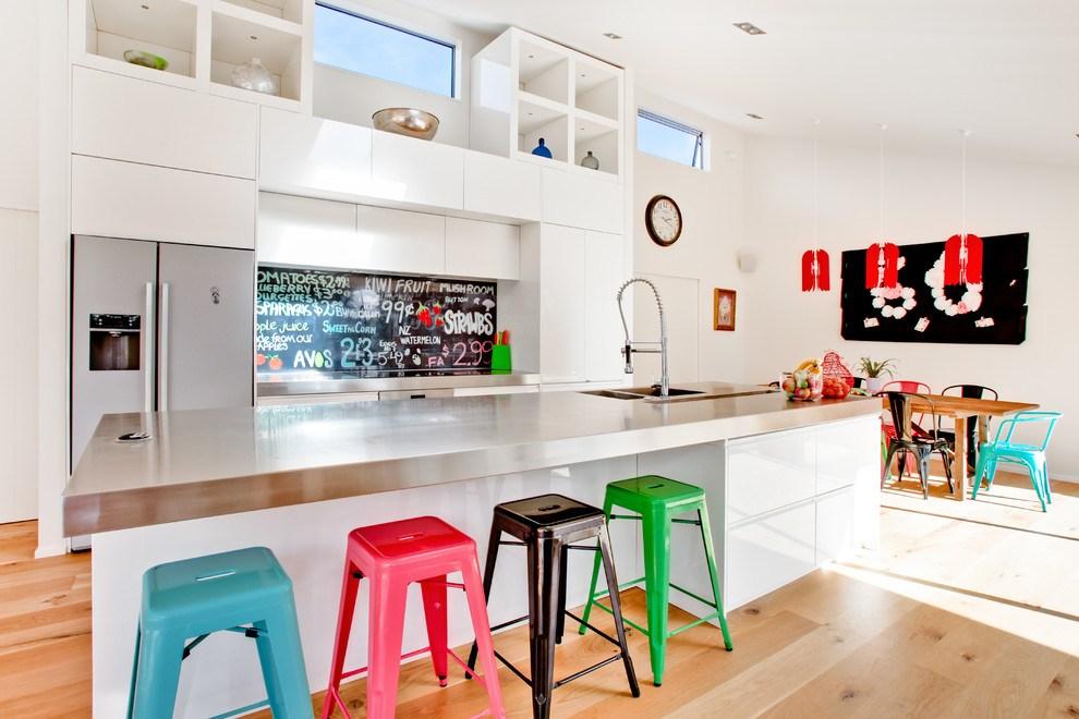 Colorful Kitchen Bar Stools