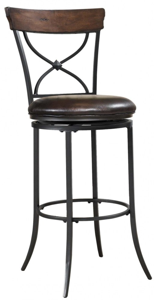 Commercial Backless Swivel Bar Stools