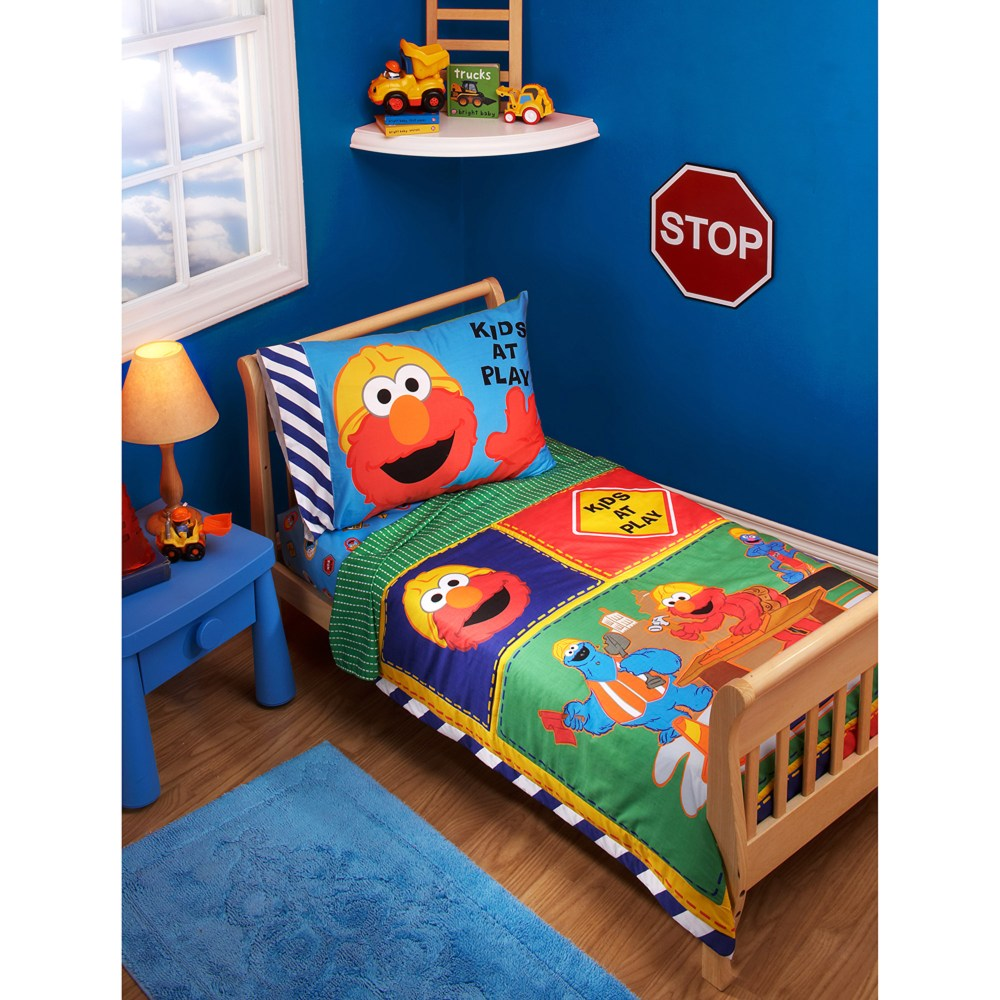 Construction Toddler Bedding