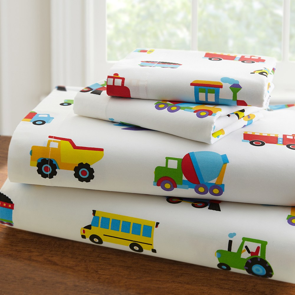 Construction Toddler Sheet Set