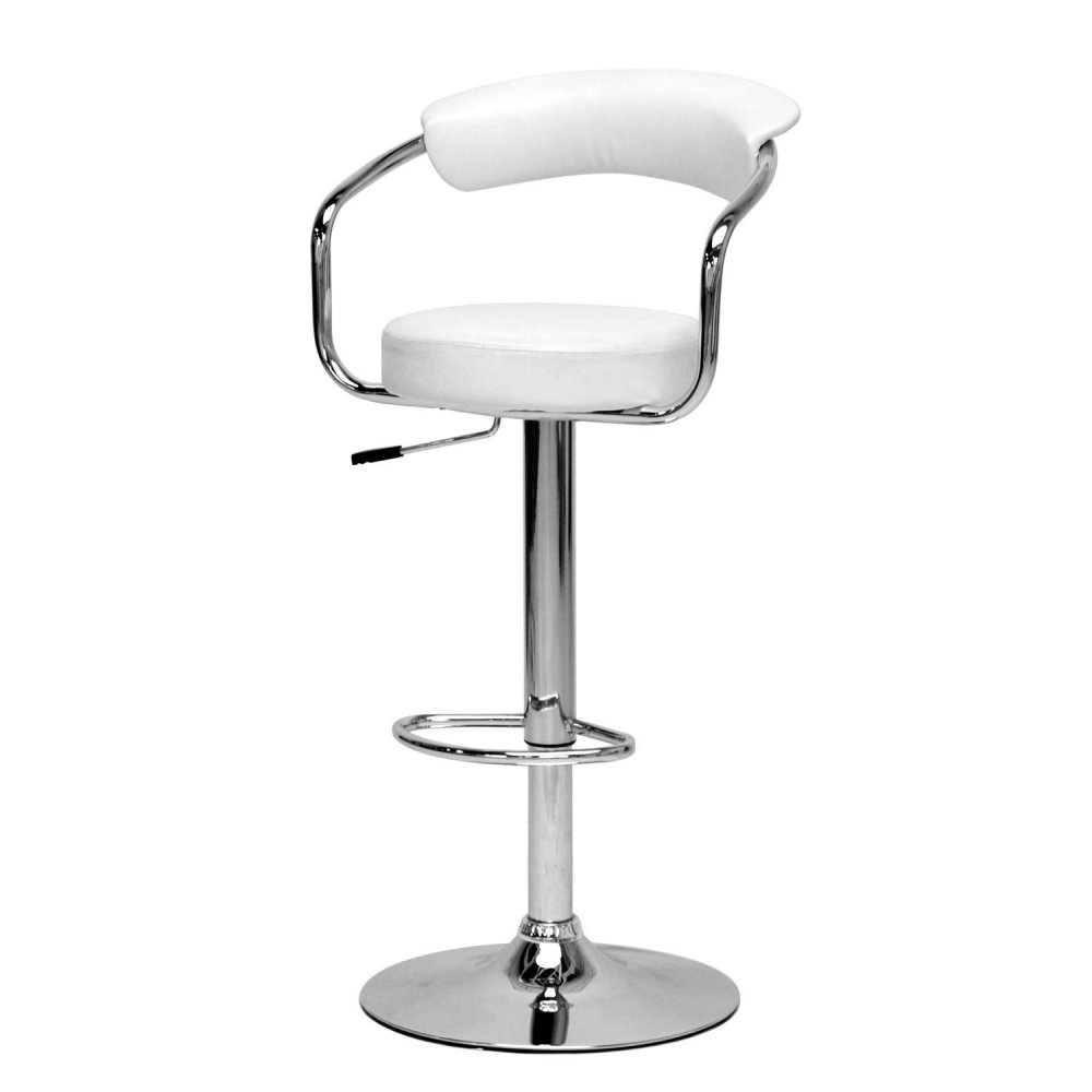 Contemporary Adjustable Height Bar Stools