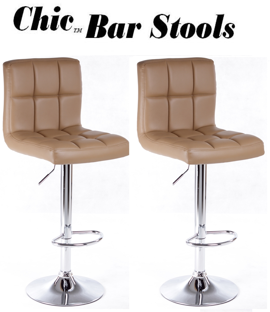 Contemporary Bar Stools Leather