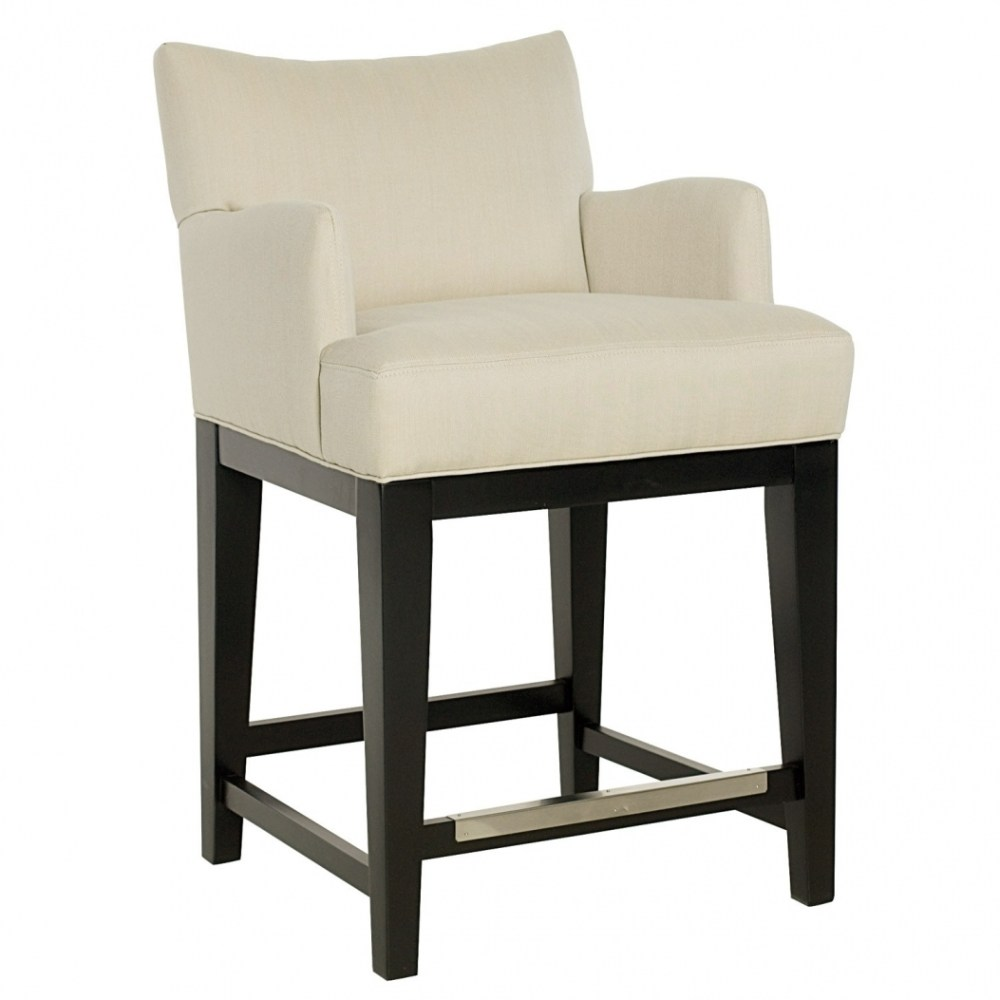 Contemporary Bar Stools With Backs And Arms