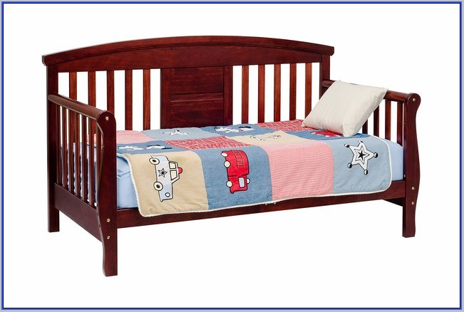 Convertible Toddler Bed White