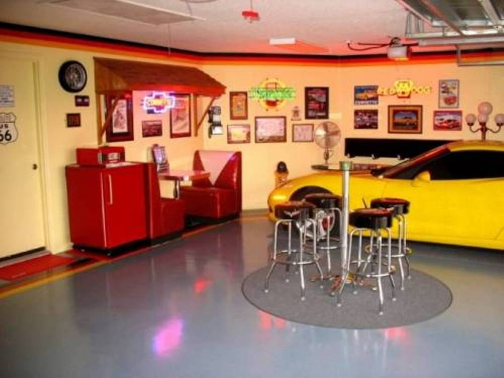 Cool Garage Bar Stools