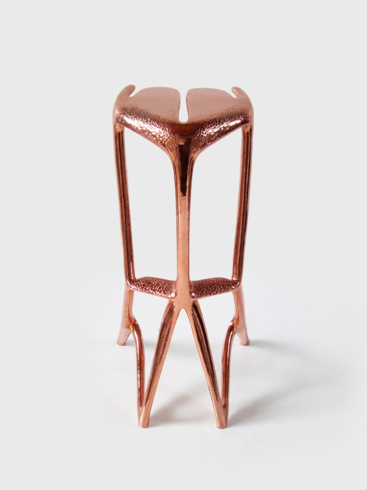 Copper Back Bar Stools