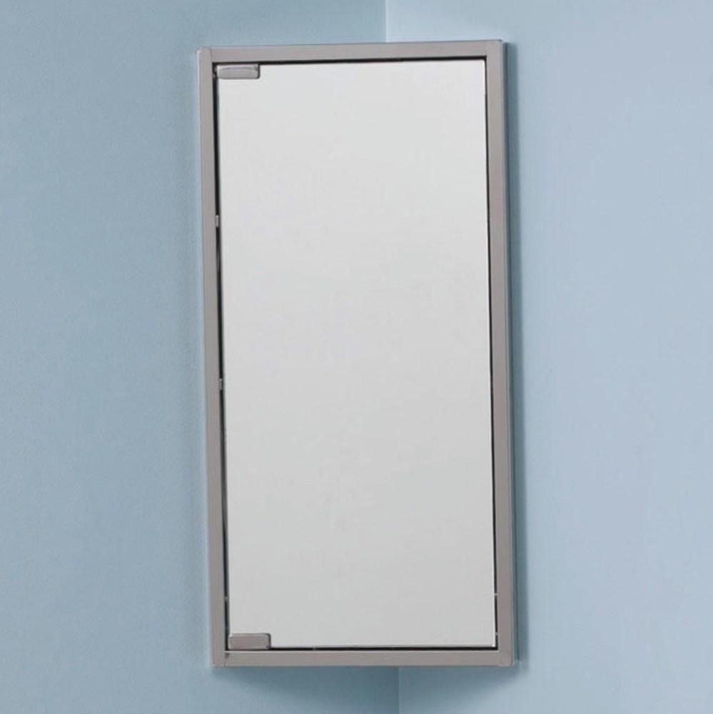 Corner Medicine Cabinet Without Mirror