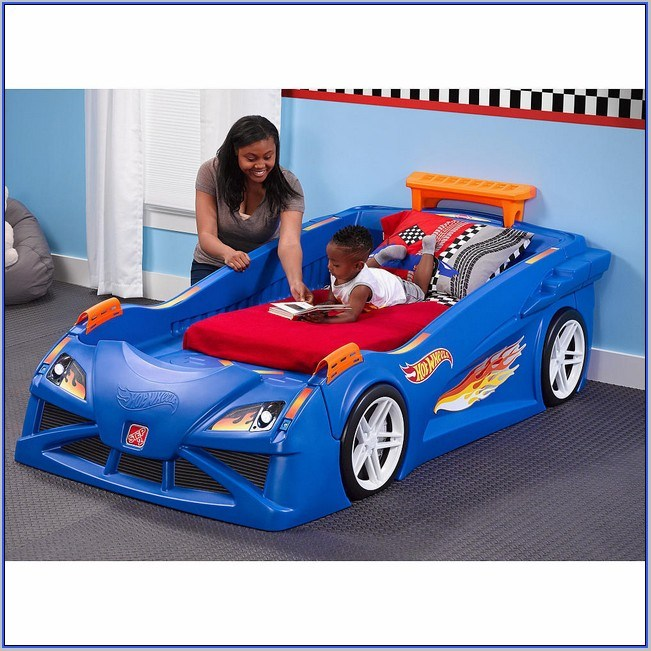 Corvette Toddler Bed Blue