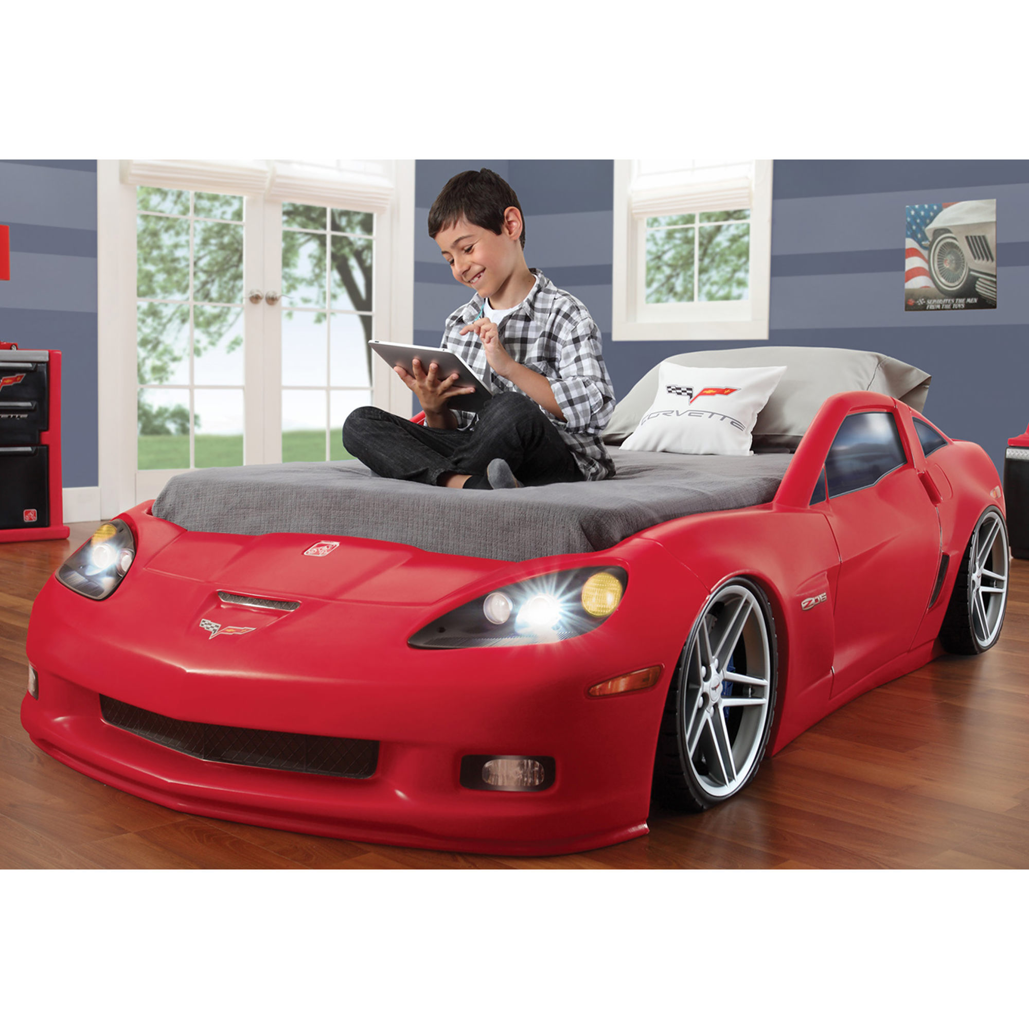 Corvette Toddler Bed