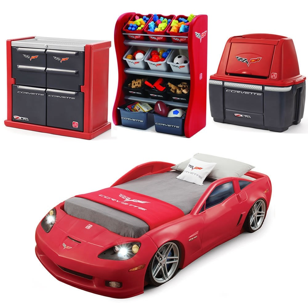 Corvette Toddler Bedroom Set