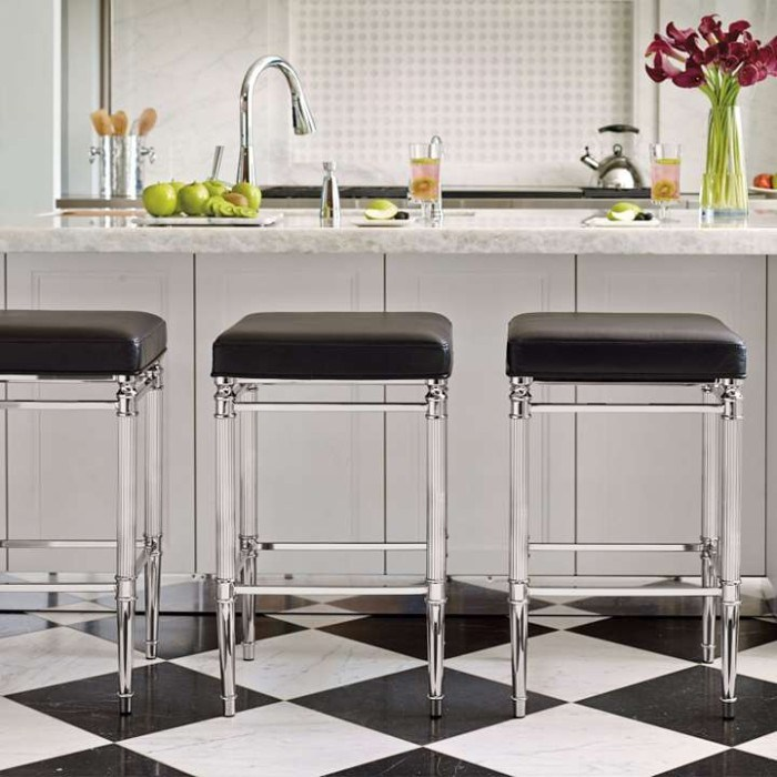 Counter Bar Stools Backless