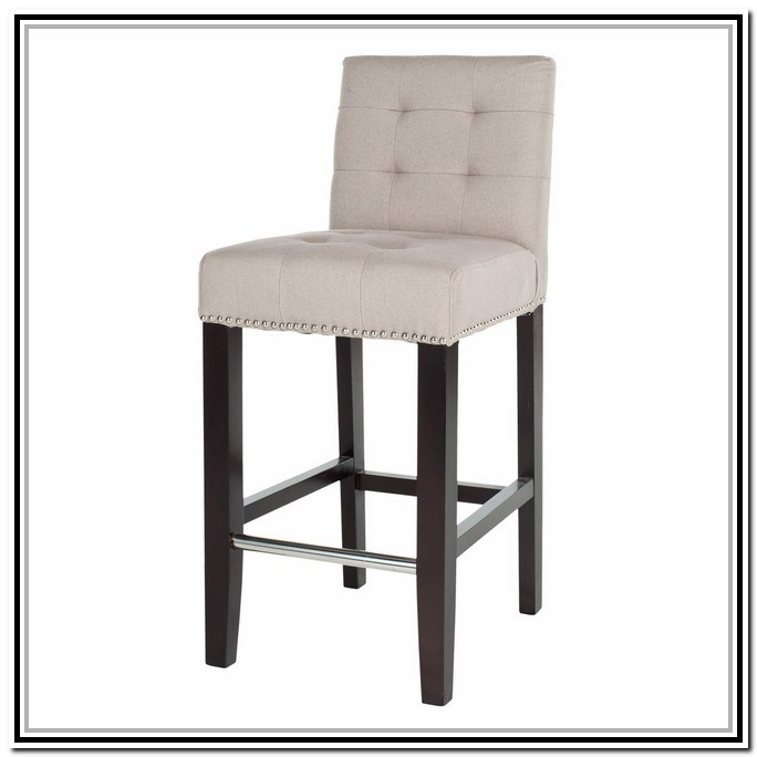 Counter Height Bar Stools With Nailheads