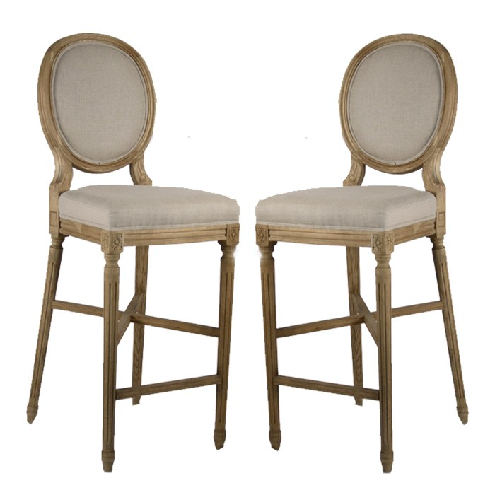 Country French Bar Stools