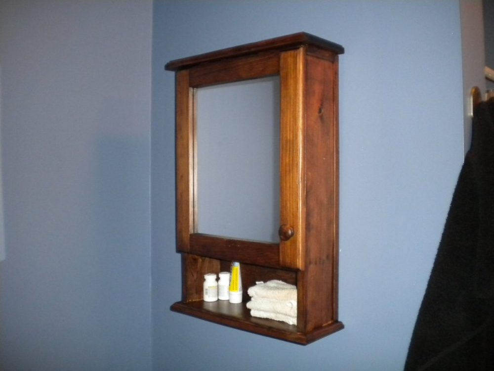 Country Style Bathroom Medicine Cabinets