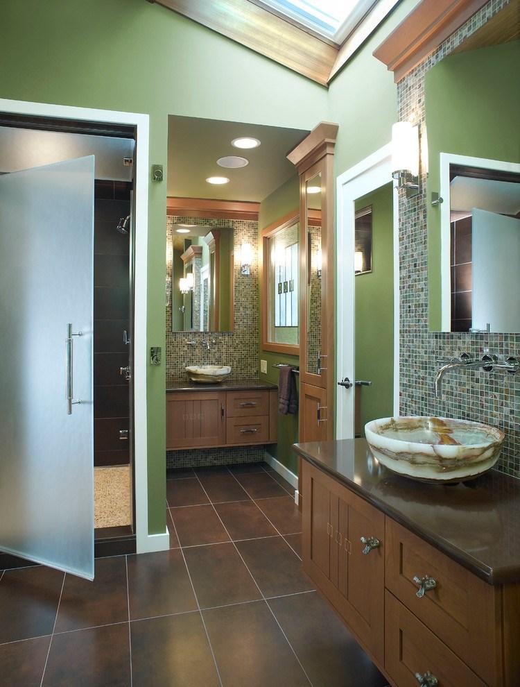 Craftsman Style Bathroom Medicine Cabinet