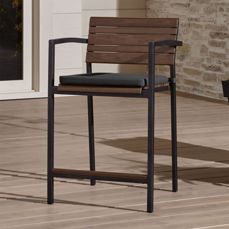 Crate And Barrel Outdoor Bar Stools