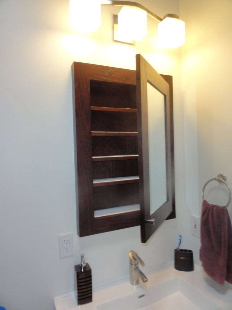 Custom Built In Medicine Cabinets