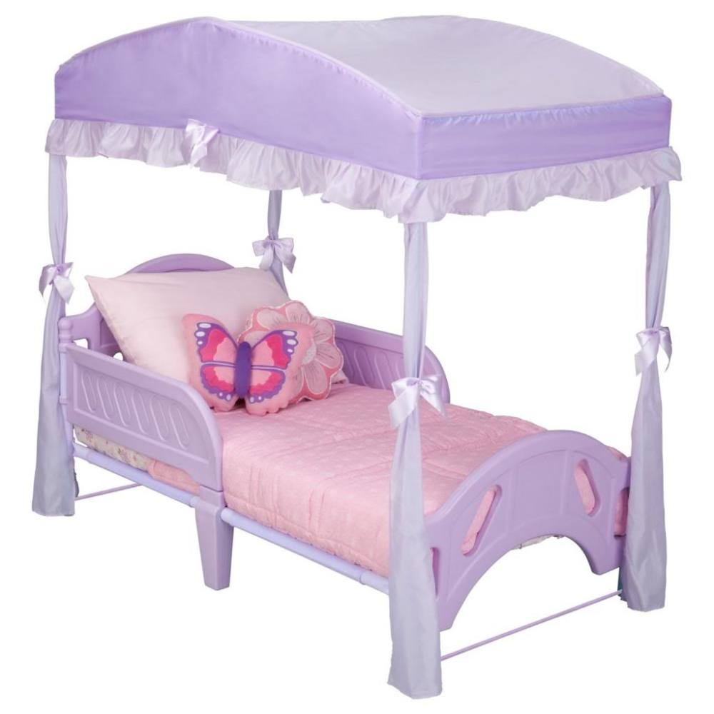Cute Canopy Toddler Beds