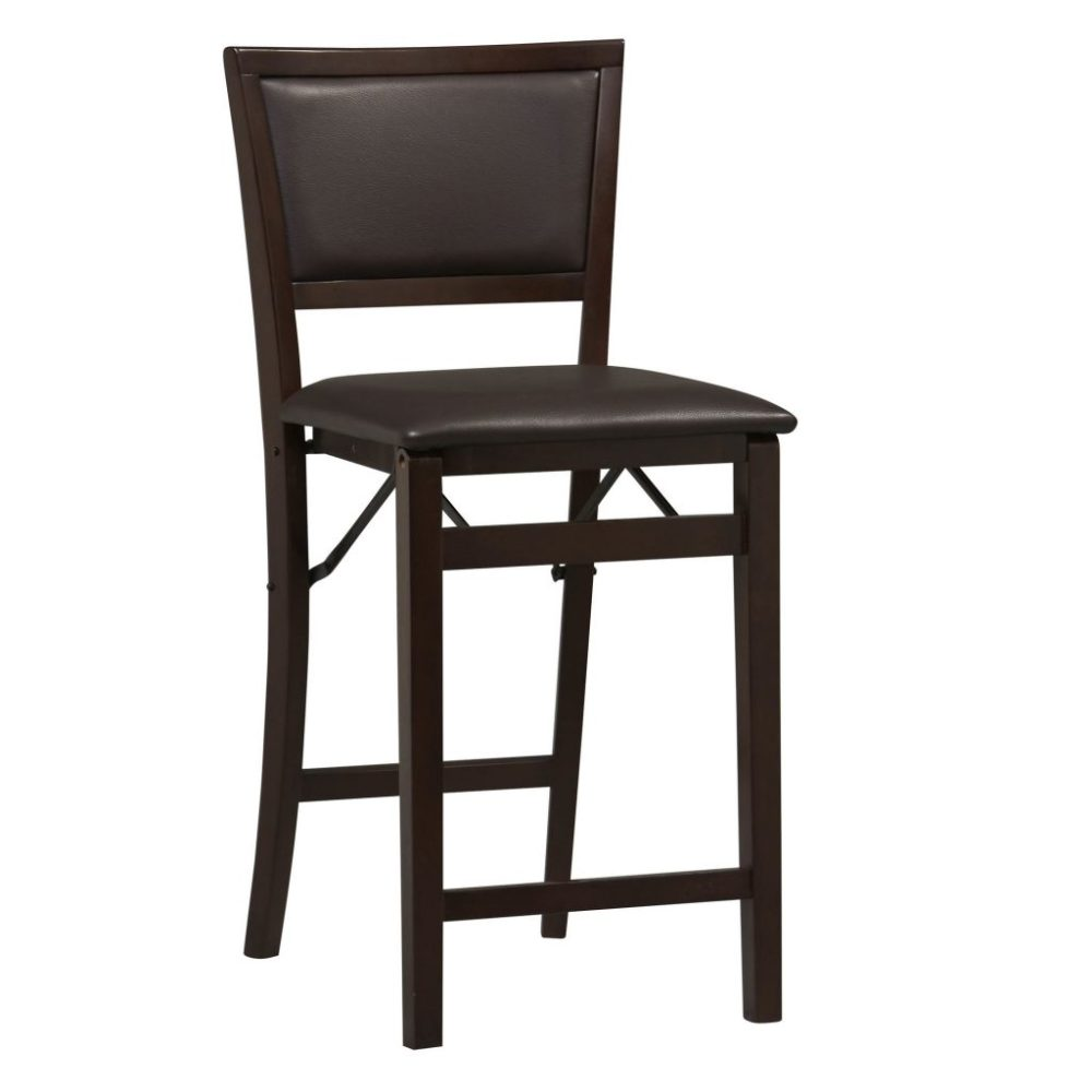 Dark Wood Bar Stools