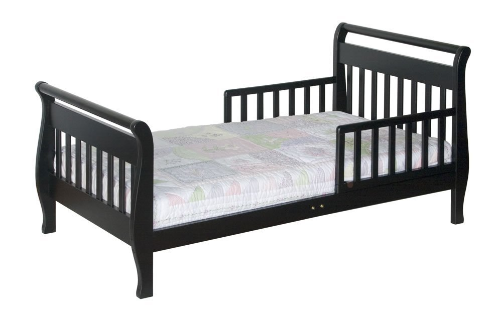 Davinci Sleigh Toddler Bed Ebony