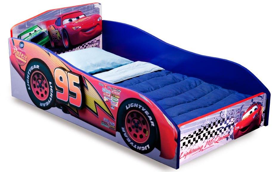 Delta Cars Wooden Toddler Bed