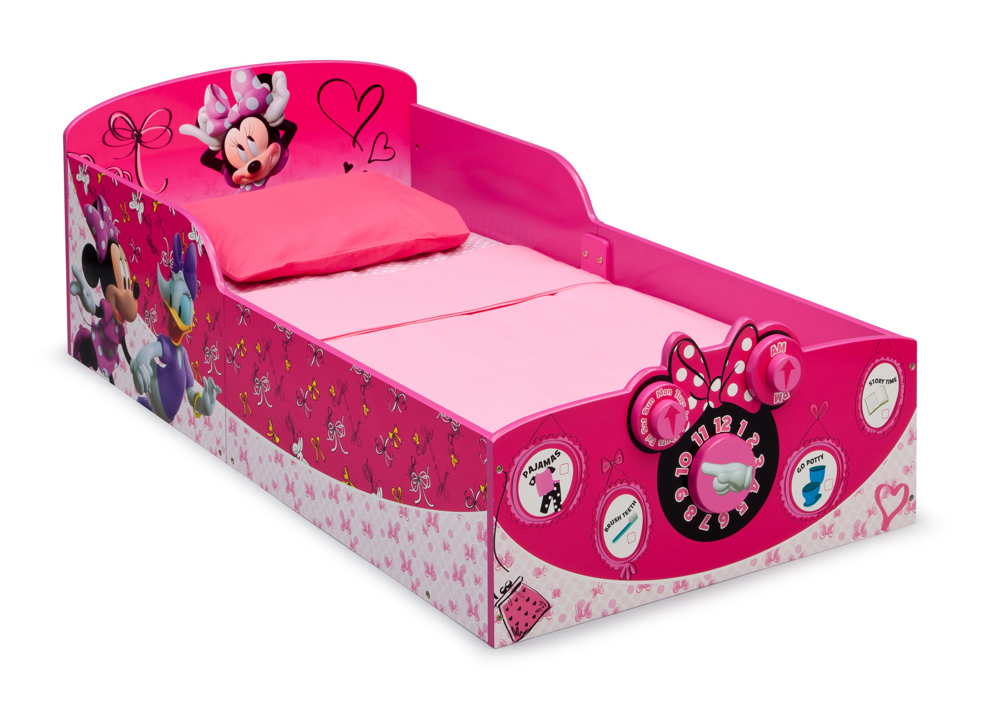 Delta Children's Products Toddler Bed Minnie Mouse