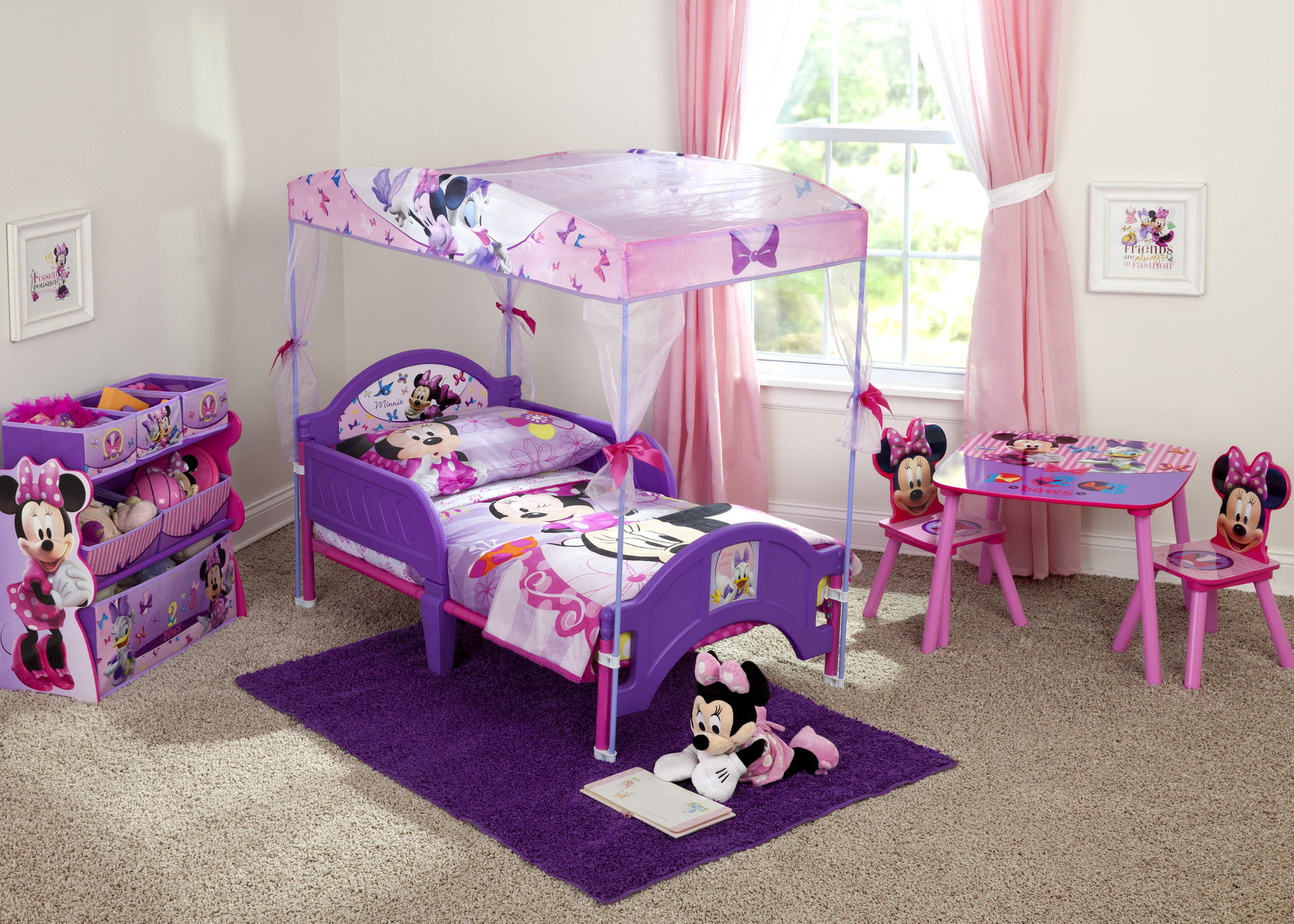 Delta Minnie Mouse Canopy Toddler Bed