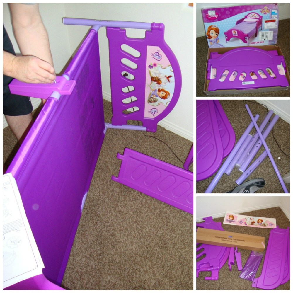 Delta Sofia Toddler Bed