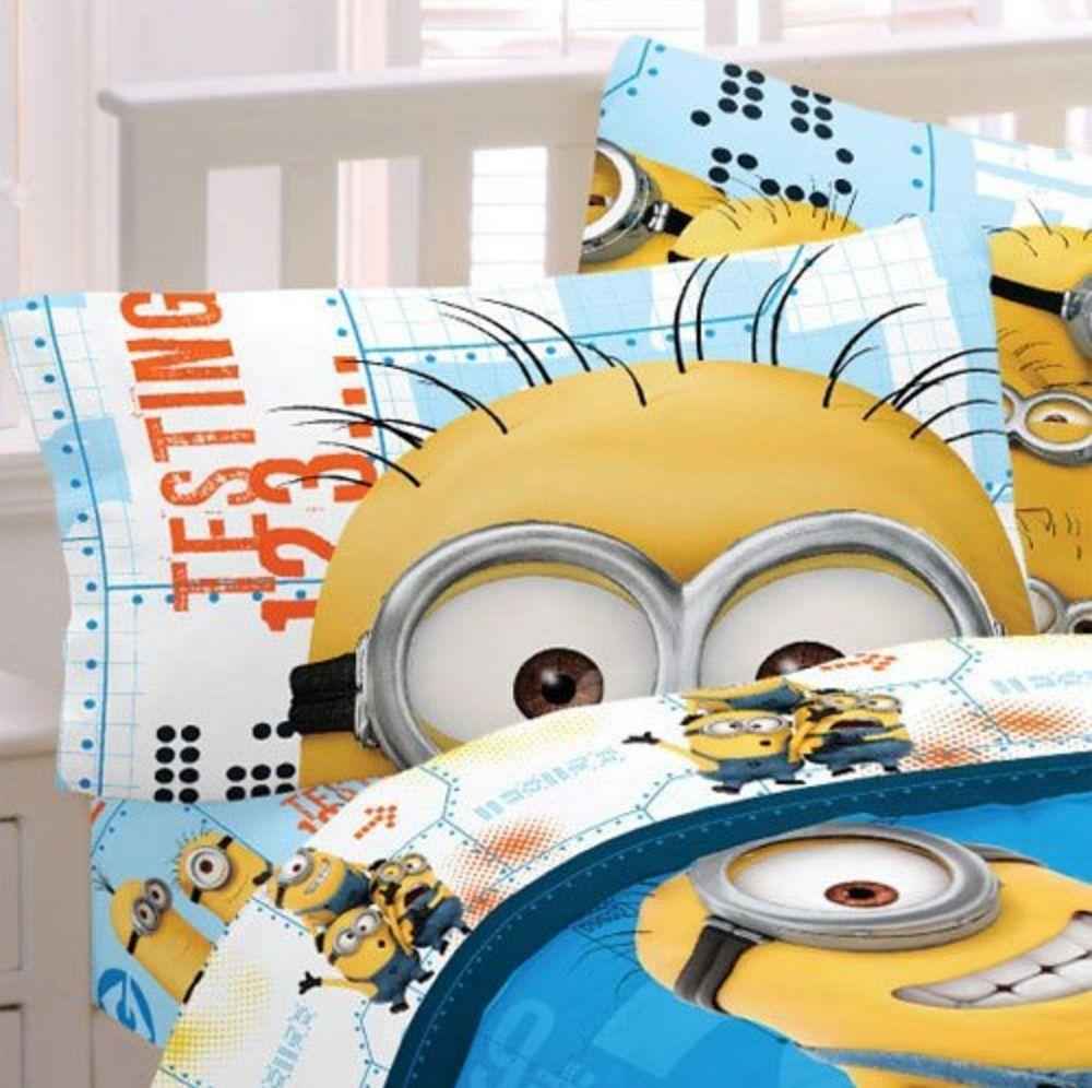 Despicable Me Minion Toddler Bedding