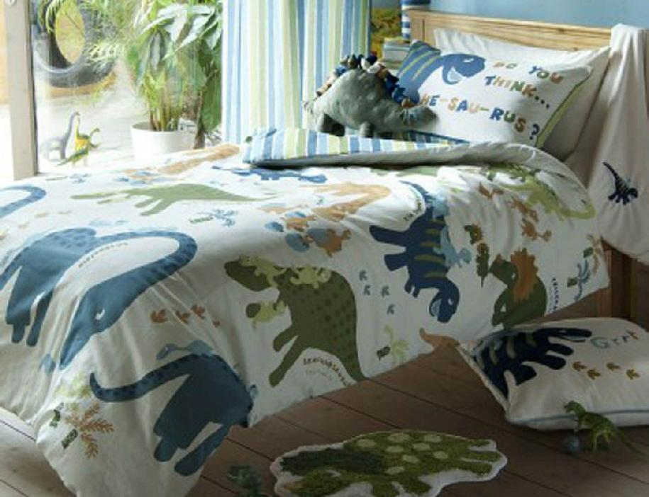 Dinosaur Toddler Bed Duvet Cover
