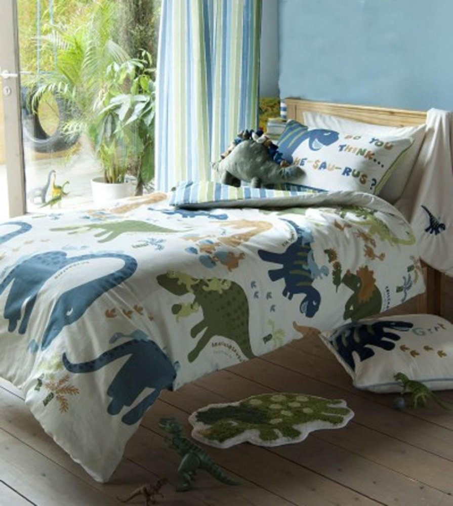 Dinosaur Toddler Bed Duvet Set